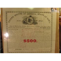 "January, 1871 ""United States of America State of Iowa, County of Webster. The County of Webster, in"