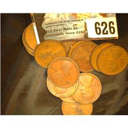 Group of (15) Old Lincoln Cents purported to be 1916. But, I have not personally checked all dates,
