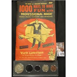 "1970 era Booklet ""The House of a Thousand Mysteries 1000 Ways to Have Fun with Professional Magic Po"