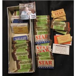 Large group of Antique Razor Blades in original individual wrappers.