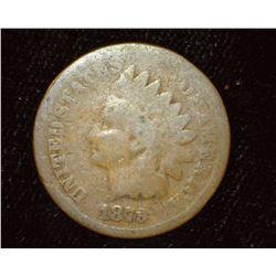 1879 Indian Head Cent, AG/Good.