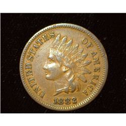 1882 Indian Head Cent, EF.
