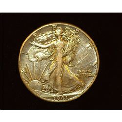 1941 P Walking Liberty Half-Dollar, EF.