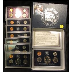 """25 Years of Genuine United States Coinage (1967-1991) in special holders with certificate of authen"