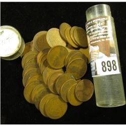 (39) 1914 P Lincoln Cents in a plastic tube, grades average G-VG.
