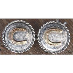 silver conchos
