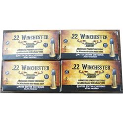 Winchester limited edition .22 shells for 1903 auto, 12 boxes, sells 12 time the bid