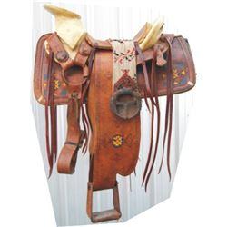 Charro saddle