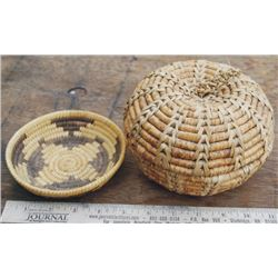 2 small North West baskets