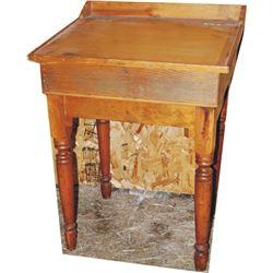 nice early wood school teacher's desk