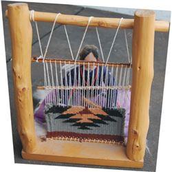 Navajo weaving sampler