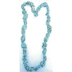 Kingman, AZ string of turquoise nuggets