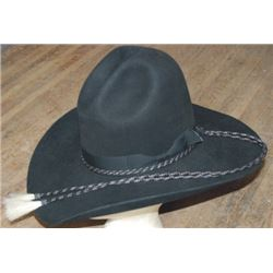 Old West custom made 8x hat and stampede string