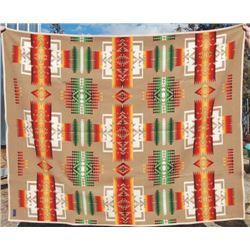 large nice Pendleton wool blanket