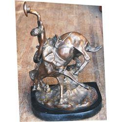 Charlie Russel bronze