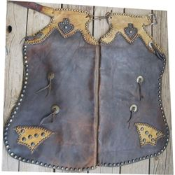 Miles City nice spotted 2 color kids chaps