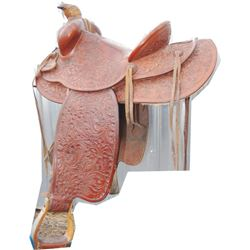 Lawrence full tooled saddle from 30-40's