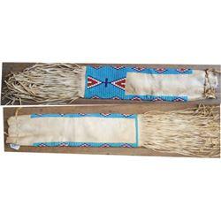 """Cheyenne 40's 23"""" beaded pipe bag"""