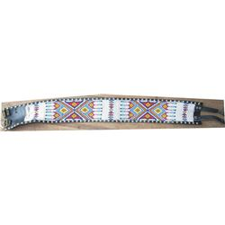 "32x4"" beaded belt"