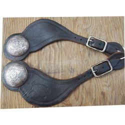 Miles City Saddlery spur straps
