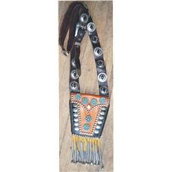 modern Indian made shoulder purse