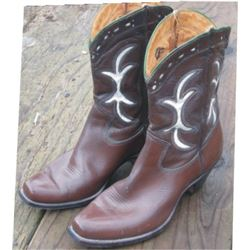 1930-40's inlaid western boots