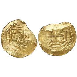 Mexico City, Mexico, cob 8 escudos, Charles II, 1700, mintmark oXM, assayer L, very rare, encapsulat