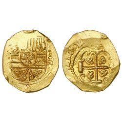 Mexico City, Mexico, cob 4 escudos, Philip V, assayer not visible (J), style of 1711-12, encapsulate