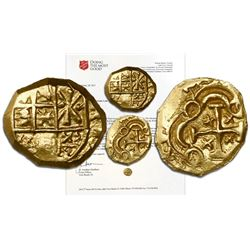Bogota, Colombia cob 1 escudo, (Arce), Charles II from the 1715 Fleet, ex-Salvation Army Red Kettle