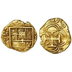 Seville, Spain, cob 1 escudo, (1)623B, rare.