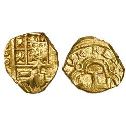 Seville, Spain, cob 1 escudo, Philip IV, assayer R