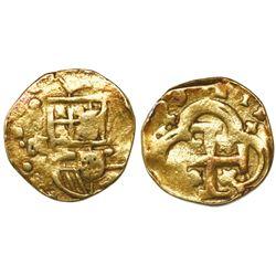 Seville, Spain, cob 4 escudos, (16)99M, rare.