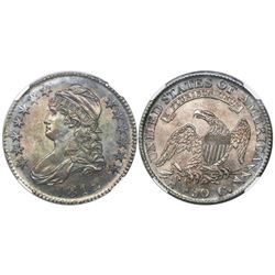 USA (Philadelphia mint), half dollar capped bust, 1812, encapsulated NGC MS 62, tied with one other