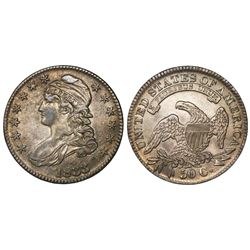 USA (Philadelphia mint), half dollar capped bust, 1833.