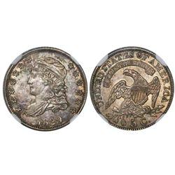 USA (Philadelphia mint), half dime (5c), 1829, encapsulated NGC AU 58.