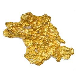 Natural gold nugget from Australia, 13.03 grams.