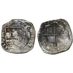Segovia, Spain, cob 8 reales, 1629R, rare.