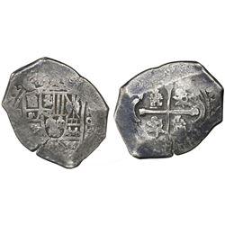 Mexico City, Mexico, cob 8 reales, (17)12(J).