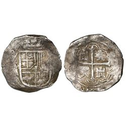 Mexico City, Mexico, cob 8 reales, (160)9A, rare.