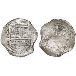 Mexico City, Mexico, cob 8 reales, (16)18D/F, ex-Sao Jose.