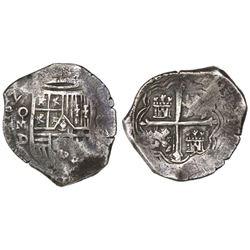 Mexico City, Mexico, cob 8 reales, 1625/4(?)D.