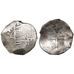 Mexico City, Mexico, cob 8 reales, (1)632(D), rare.