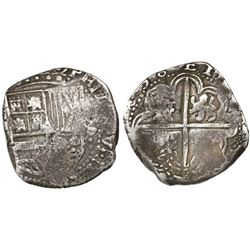 Potosi, Bolivia, cob 8 reales, 1638(TR).
