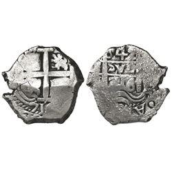 Potosi, Bolivia, cob 4 reales, 1716Y.