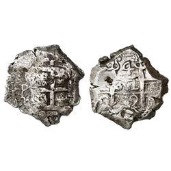 Potosi, Bolivia, cob 4 reales, 1742C.