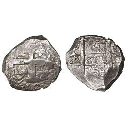Potosi, Bolivia, cob 4 reales, 1768(V-Y).