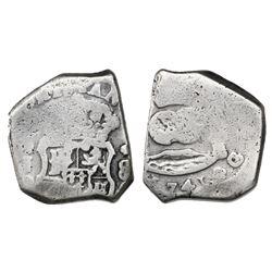 Guatemala, cob 8 reales, 1741J, rare, ex-Richard Stuart.