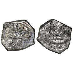 Guatemala, cob 8 reales, 1742(J), ex-Reijgersdaal, ex-Richard Stuart.