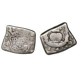 Guatemala, cob 2 reales, 1748J, ex-Richard Stuart.