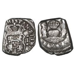 Guatemala, cob 1 real, 1735/4J, ex-Richard Stuart.